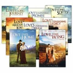 Love Comes Softly movie series! I LOVE it when The Hallmark Channel plays them back to back.