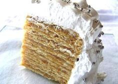 Torta Pompadour Rancagüina Gourmet Recipes, Sweet Recipes, Cake Recipes, Alfajores Recipe Argentina, Torta Pompadour, Chilean Recipes, Chilean Food, Pastry Cake, Cake Shop