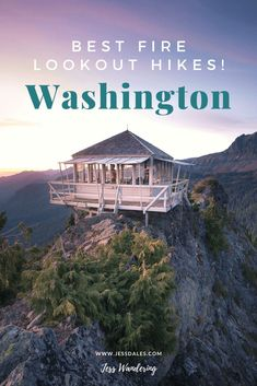 Washington State is a hikers paradise. Enjoy this list of the best fire lookout hikes in Washington State, including details about how to hike to, camp at, and rent them! Places To Travel, Places To Visit, Travel Destinations, North Cascades, Best Hikes, United States Travel, Pacific Northwest, Pacific Coast, Travel Usa