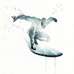 Blule-Watercolors-silver-surfer.jpg 610 × 610 pixels
