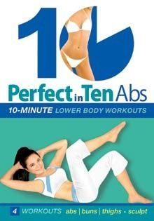 """Perfect in Ten: Abs with Tanna Valentine"" DVD - 10-minute workouts"