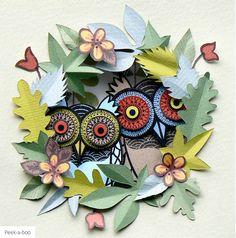 owls made from paper | Helen Musselwhite , tem surpreendido a todos com o seu criativo ...