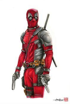 #Deadpool #Fan #Art. (Deadpool) By: Supershinobi. (THE * 5 * STÅR * ÅWARD * OF: * AW YEAH, IT'S MAJOR ÅWESOMENESS!!!™) [THANK U 4 PINNING!!!<·><]<©>