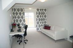 Office DIY curtain room divider  Esthetician Inspiration Room Divider Ideas With Curtains Pinterest