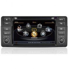 Autoradio DVD GPS pour BMW 3 E46 M3 X3 Z3 Z4 (1998-2006) compatible GPS/VCD/20CD/MP3/MPEG4/DIVX/CD-R/USB/SD/WMA/JPEG/Ipod/WIFI/3G/IPOD/IPHONE 4 avec  Ecran tactile et les fonctions TV et radio AM/FM/RDS intégrées. PRODUIT NEUF / LIVRAISON GRATUITE / GARANTIE 1 AN