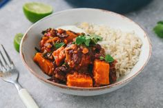 Sweet Potato & Kale Chili #vegan #glutenfree