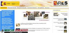 PARES, The Online Portal To The Archives of Spain | Mexican Genealogy