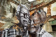 JR and jose parla: wrinkles of the city, havana, cuba - the book