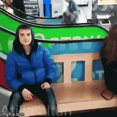 couple, funny, and gif afbeelding