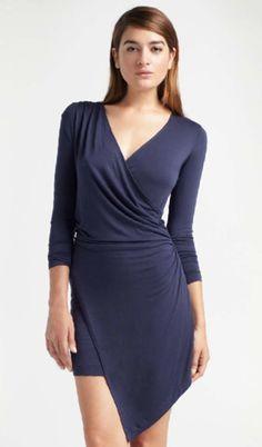 $180 http://shop.estiloboutique.com/index.php?product=KN-D412S=1 Kain Nori Wrap Dress - Dresses - Estilo