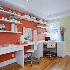home office sewing room arrangement | Home Office/Sewing Room Combo | Around the house good tips