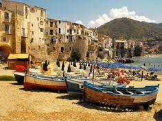 Cefalu en Sicile