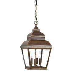 $155.90 Mossoro hanging lantern by Minka