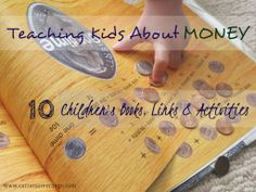 Here are some amazing resources - books & activities - to help you guide your children toward financial responsibility.