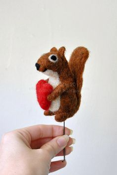 squirrel cake topper