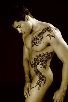 Resultado de imagem para tattoo dragão