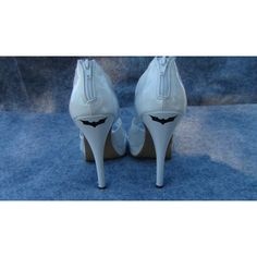 2 Batman Dark Knight Vinyl Stickers For Wedding High Heel Shoes Bridal... ($2.99) ❤ liked on Polyvore