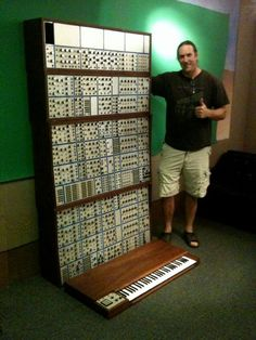 Danny Carey ~ big E-mu modular synth