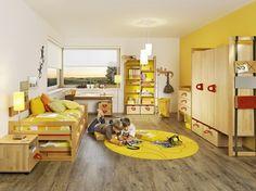 Yellow Kids' Bedroom Decoration Ideas