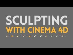 Sculpting was introduced with Cinema 4D R14 opening up new possibilities for modelling. Sculpting though is not only great for modelling but also in the conc...