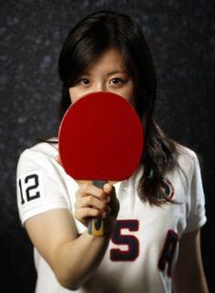 riel Hsing Event: Table tennis Lives: San Jose, Calif. Notable: Two time U.S. Women's National Champion. DMN photographer Vernon Bryant photographed athletes at the Olympic Team Media Summit in Dallas.