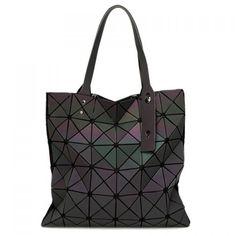 Casual Zip and Geometrical Design Women's Shoulder Bag