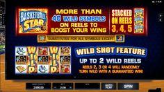 Вайлд Скаттер и бонусная игра на автоматах Баскетболл