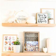 Rustic Shelves, Wood Shelves, Floating Shelves, White Oak Wood, Walnut Wood, Cleaning Wood, Shelf Supports, Wood Screws, You're Awesome