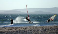 Windsurfing in Lange