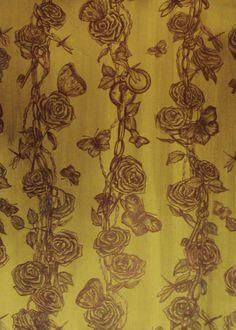 Des épines de beauté — at Alex Gabrielle Designs studio. ''le pouvoir de la liberte'' wallpaper collection