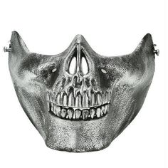 Skull Skeleton Airsoft Game Hunting Biker Half Face Protect Gear Mask Guard Halloween Masquerade Party Worldwide sale Plus Latex Halloween Masks, Halloween Masquerade, Halloween Skeletons, Scary Halloween, Halloween Costumes, Masquerade Party, Party Costumes, Skull Motorcycle, Skeleton Mask