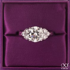 Large round brilliant with another three either side. Very pretty. Looks like a horizontal set marquise. Wedding Engagement, Wedding Bands, Engagement Rings, Fashion Rings, Fashion Jewelry, Three Stone Rings, Art Deco Ring, Ring Verlobung, Diamond Are A Girls Best Friend