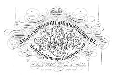 Antique Clip Art - Pen Flourishing - Typography - The Graphics Fairy