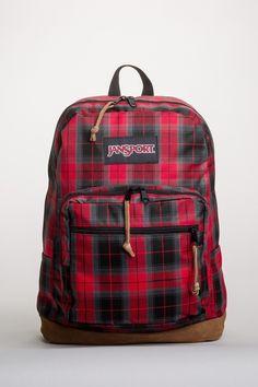 Jansport Right Pack Suede Bottom Backpack Black