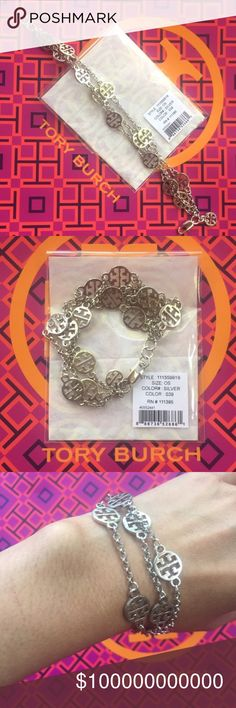 Tory Burch Multistrand Bracelet Worth over $163 (incl tax)  Brand new, never worn  Comes with original packaging.  Price Firm No trades Tory Burch Jewelry Bracelets