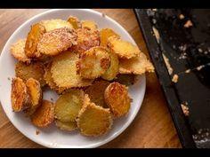 Parmezános-fokhagymás sült burgonya recept - YouTube