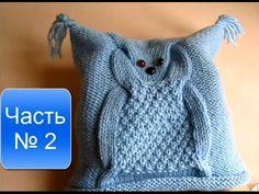 KNITTING! Вязание спицами Часть № 2 Детская шапочка - YouTube