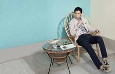 Jung Woo Sung - INDIAN's Spring 2014 Ad Campaign