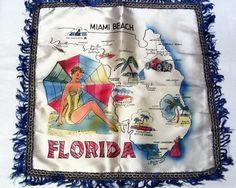 Florida pillow.