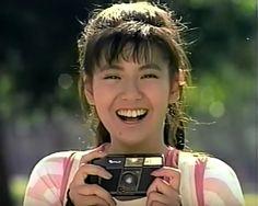 笑顔が可愛い 南野陽子ちゃん