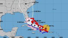 Irma Update: Diverts more north. Winds At 180-MPH. NPR