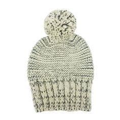 Multi Tweed slouchy beanie in black/white by Hat Attack. Bb Style, Slouchy Beanie, Tweed, Bird, Black And White, Hats, Fashion, Moda, Black N White
