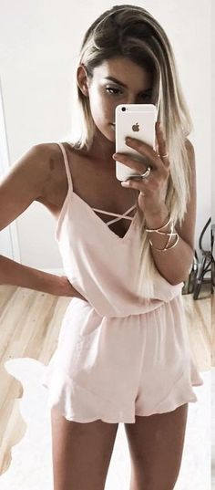 #summer #ultimate #outfits | Pink Romper