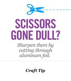 Craft Tip!