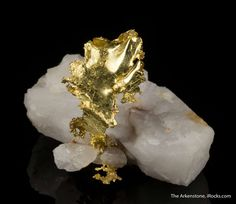 Gold, 1992 Christmas Pocket, Crystalline-Alabama Claim, Jamestown mine, Tuolumne Co., California, USA, Miniature, 4.5 x 3.4 x 3.3 cm, This rare locality piece is a characteristic style found twice: in the 1880s and later in one pocket in the early 1990s., For sale from The Arkenstone, www.iRocks.com. For more details on this piece and others, visit http://www.irocks.com/minerals/specimen/45323