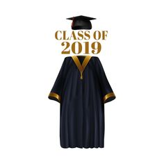 Shop Class Of 2019 Graduation Gown graduation gifts 2019 t-shirts designed by CreatedPrototype as well as other graduation gifts 2019 merchandise at TeePublic. College Graduation Photos, Graduation Photoshoot, Graduation Decorations, Graduation Party Decor, Graduation Pictures, Grad Parties, Graduation Gowns, Graduation Wallpaper, School Clipart