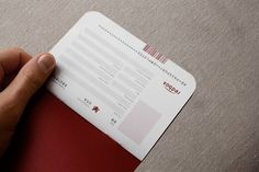 The redbox passport is used in new employee orientation as a way of guiding the employees through the many departments that make redbox work. It includes a set of rubber stamps, one for each of the 15 departments, that denote the completion of a section.