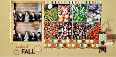 #papercrafting #scrapbook #layout - Paper Issues: Two-Fer Tuesday: Ready for Fall