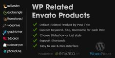 WP Related Envato Products - CodeCanyon Item for Sale