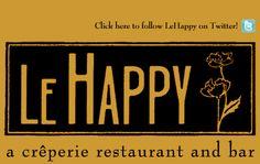 CRÊPES  Le Happy  1011 NW 16th Ave,  503-226-1258  Mon-Thu 5PM-1AM, Fri 5PM-2:30AM, Sat 6PM-2:30AM  lehappy.com